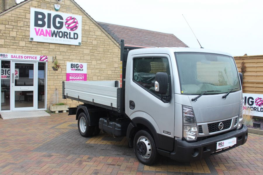 NISSAN NT400 CABSTAR DCI 35.14 SWB ALLOY TIPPER - 6520 - 10