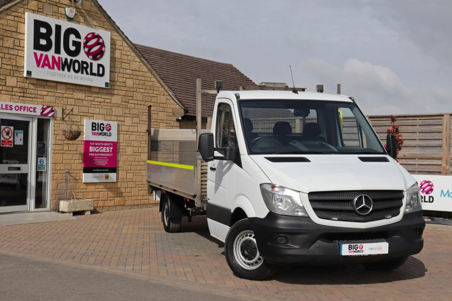 MERCEDES SPRINTER 314 CDI 140 LWB SINGLE CAB ALLOY DROPSIDE WITH TAIL LIFT  (14002) - 12361 - 5
