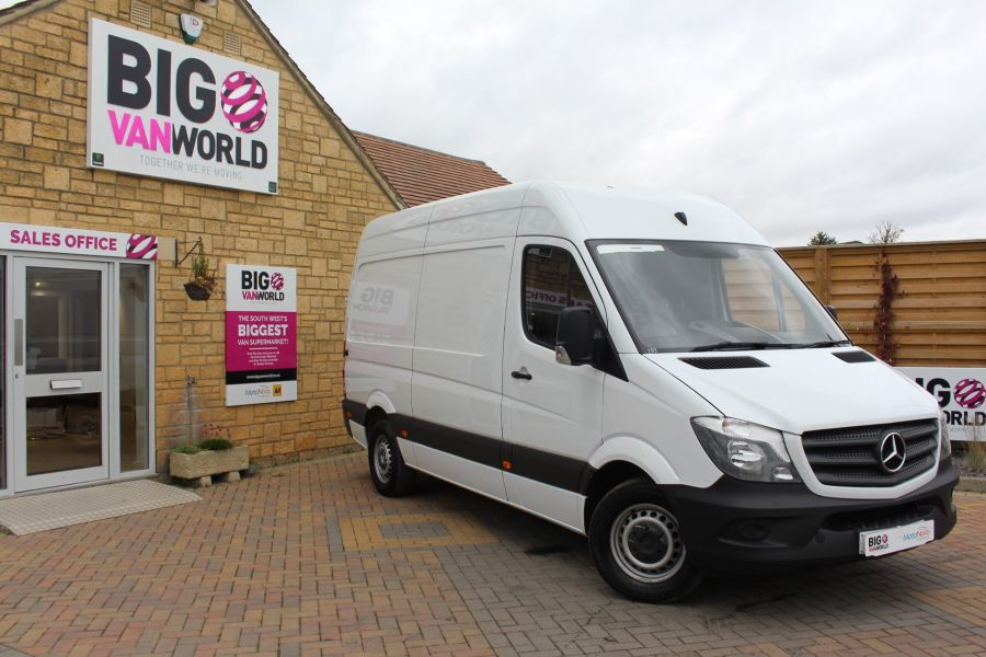 MERCEDES SPRINTER 313 CDI MWB HIGH ROOF - 6708 - 1
