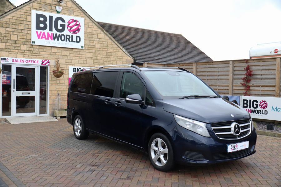MERCEDES V-CLASS V250 CDI 188 BLUETEC SE 8 SEAT EXTRA LONG - 10420 - 3