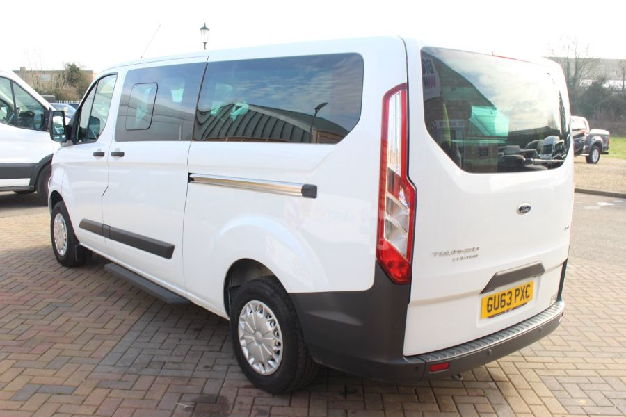 FORD TOURNEO CUSTOM 300 TDCI 125 ZETEC L2 H1 9 SEAT MINIBUS LWB LOW ROOF - 8771 - 7