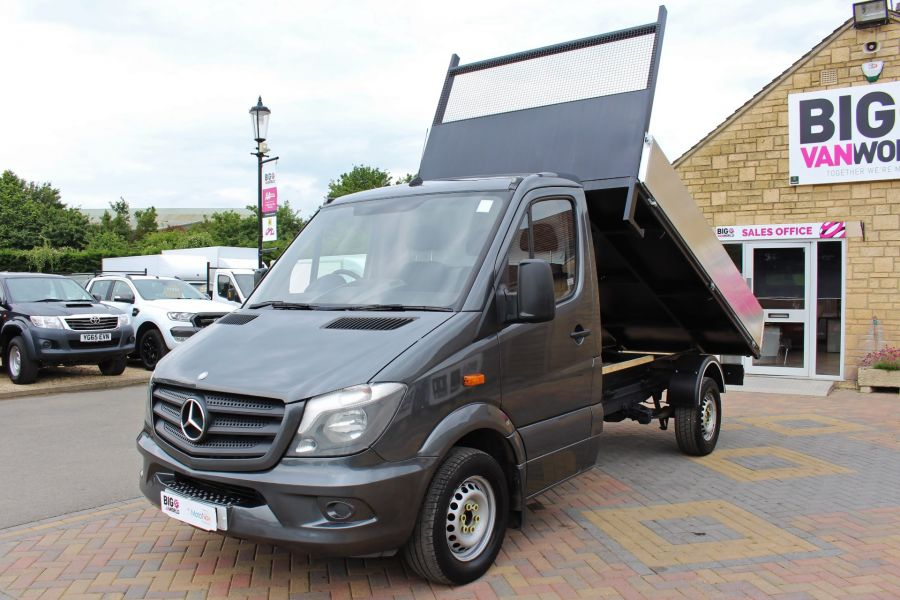 MERCEDES SPRINTER 313 CDI 129 MWB SINGLE CAB NEW BUILD ALLOY TIPPER - 9592 - 9