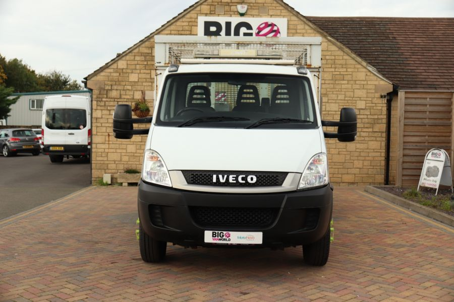 IVECO DAILY 70C18 3450 WB SINGLE CAB ALLOY CAGED TIPPER WITH TAIL LIFT - 9614 - 11