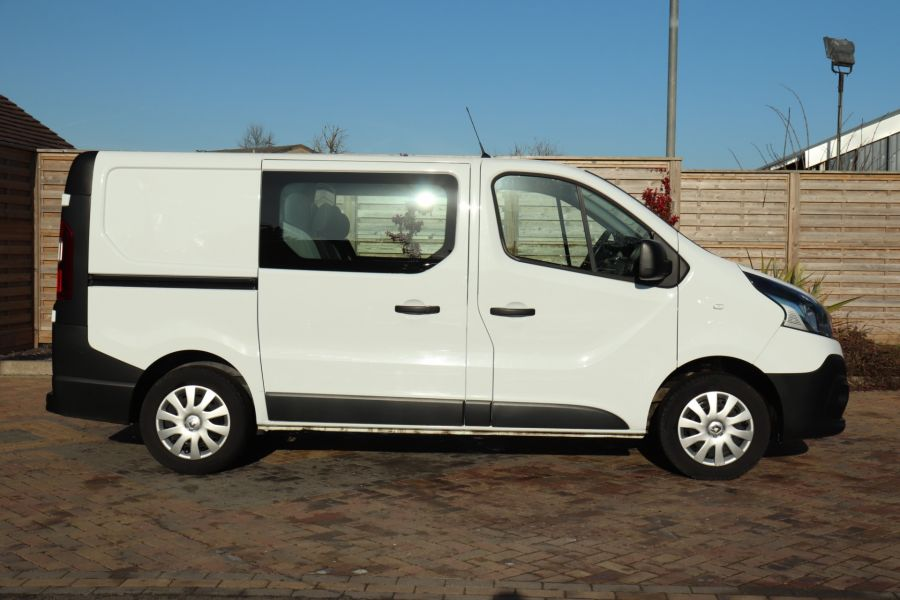 RENAULT TRAFIC SL27 DCI 115 BUSINESS SWB DOUBLE CAB 6 SEAT CREW VAN LOW ROOF  - 10282 - 5