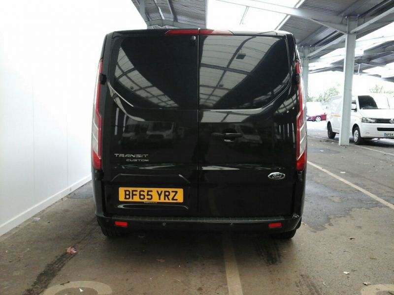 FORD TRANSIT CUSTOM 290 TDCI 155 L2H1 LIMITED DOUBLE CAB 6 SEAT CREW VAN LWB LOW ROOF FWD - 9470 - 3