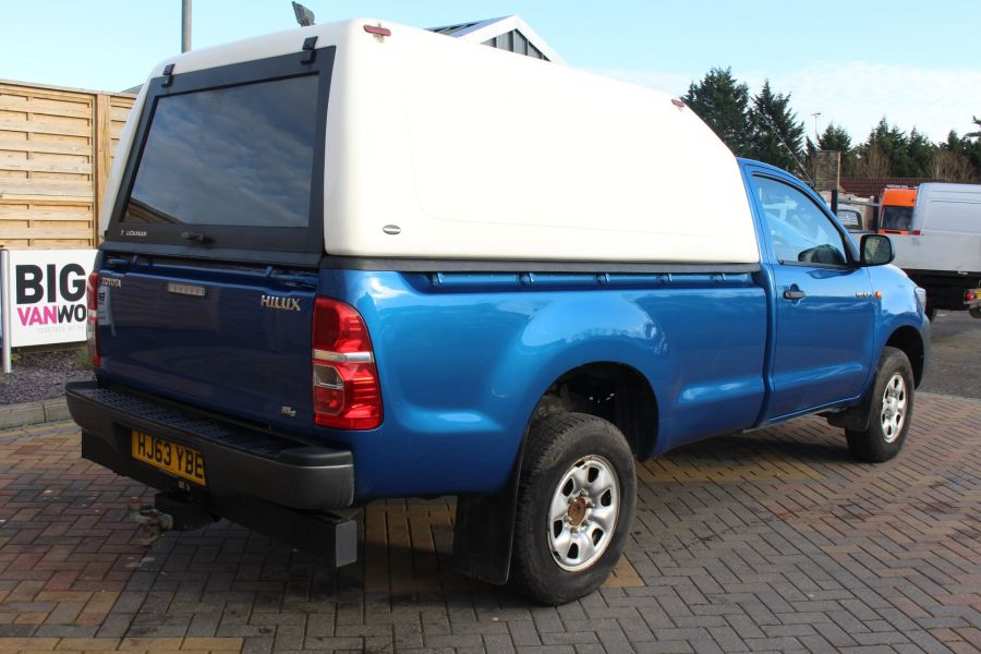 TOYOTA HI-LUX HL2 4X4 D-4D 142 SINGLE CAB WITH TRUCKMAN TOP - 8707 - 5
