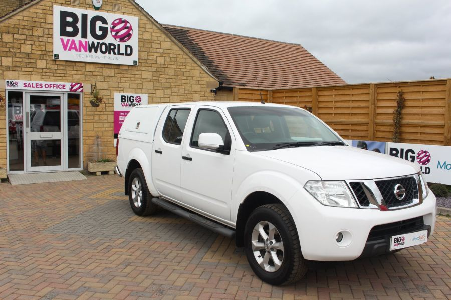 NISSAN NAVARA DCI ACENTA 4X4 DOUBLE CAB WITH TRUCKMAN TOP - 6447 - 2