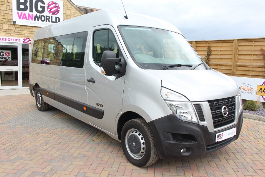 NISSAN NV400 F35 DCI 125 L3 H2 SE LWB MEDIUM ROOF 13 SEAT BUS - 6485 - 3