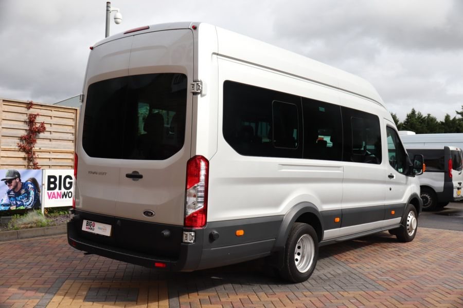 FORD TRANSIT 460 TDCI 155 L4H3 TREND 17 SEAT BUS HIGH ROOF DRW RWD - 9897 - 5