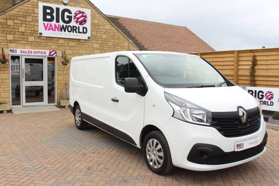 RENAULT TRAFIC LL29 DCI 115 L2 H1 BUSINESS+ PLUS LWB LOW ROOF - 6467 - 2