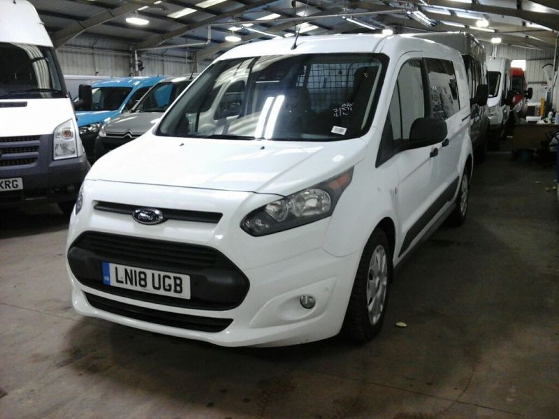 FORD TRANSIT CONNECT 240 TDCI 120 L2H1 TREND POWERSHIFT LWB LOW ROOF - 10154 - 1