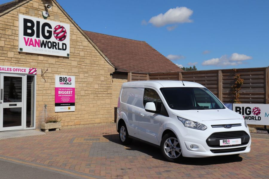 FORD TRANSIT CONNECT 200 TDCI 120 L1H1 LIMITED SWB LOW ROOF - 11716 - 1