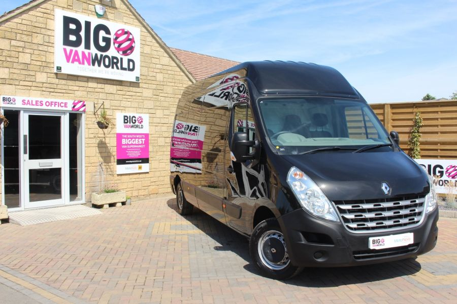 RENAULT MASTER LH35 DCI 150 LWB HIGH ROOF - 6401 - 1