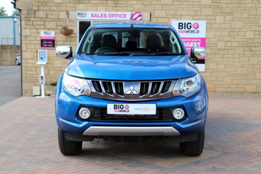 MITSUBISHI L200 DI-D 178 4WD WARRIOR DOUBLE CAB WITH ROLL'N'LOCK TOP - 11123 - 11
