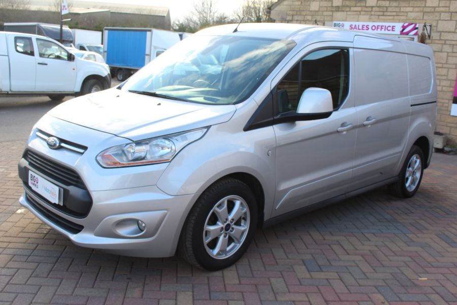 FORD TRANSIT CONNECT 240 TDCI 115 LIMITED L2 H1 LWB - 7241 - 8