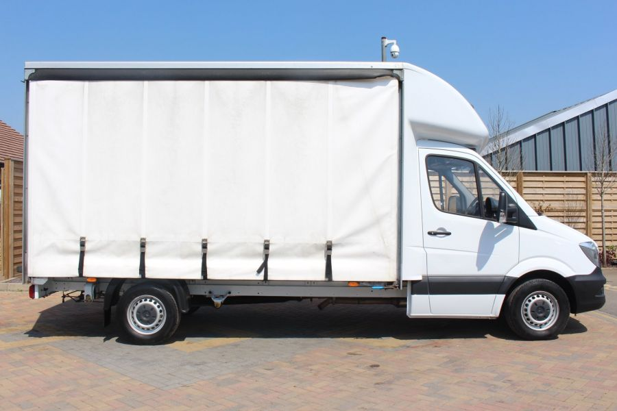 MERCEDES SPRINTER 314 CDI 140 CURTAINSIDER - 7665 - 4