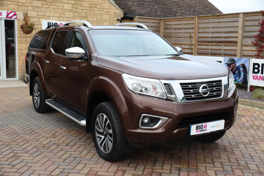 NISSAN NAVARA DCI 190 TEKNA 4X4  DOUBLE CAB WITH TRUCKMAN TOP AUTO - 10310 - 3
