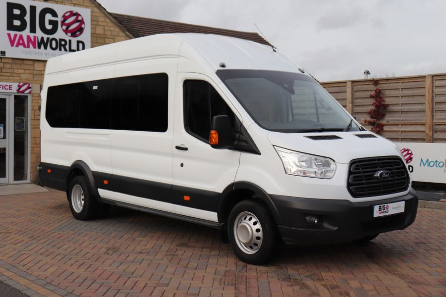 FORD TRANSIT 460 TDCI 155 L4H3 TREND 17 SEAT BUS HIGH ROOF DRW RWD - 11807 - 1