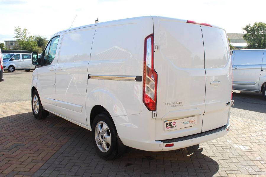 FORD TRANSIT CUSTOM 270 TDCI 125 L1 H1 LIMITED SWB LOW ROOF FWD - 6799 - 7