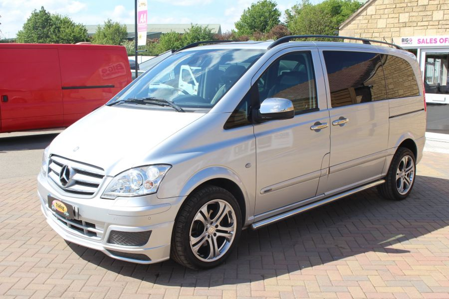 MERCEDES VITO 122 CDI SPORT-X DUALINER COMPACT 224 BHP SPECIAL EDITION - 6109 - 8