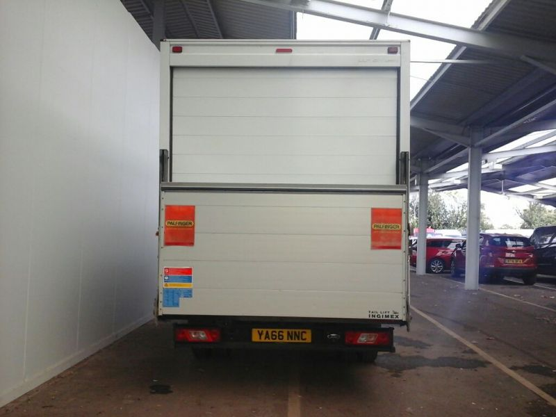 FORD TRANSIT 350 TDCI 130 L4 'ONE STOP' LUTON WITH TAIL LIFT DRW RWD - 9852 - 3