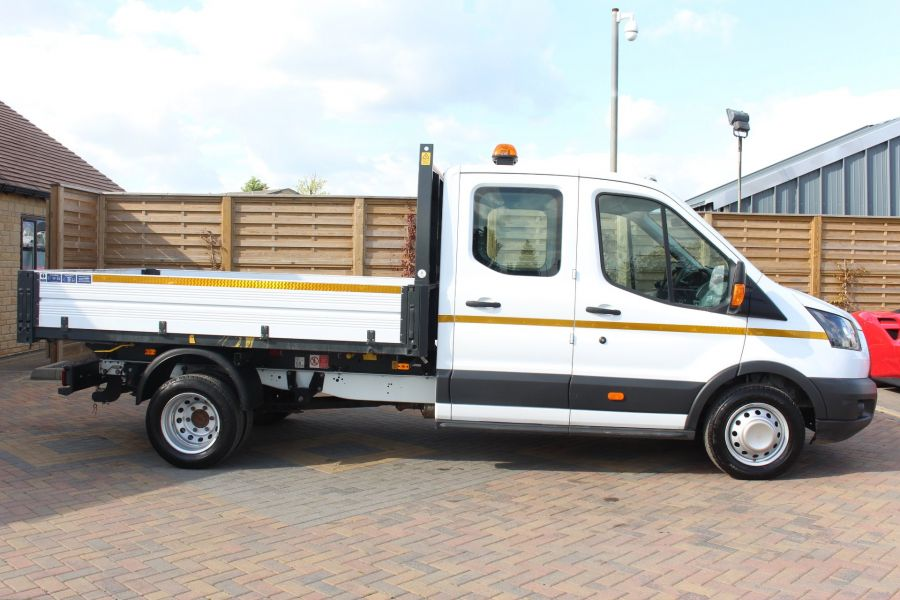 FORD TRANSIT 350 TDCI 130 L3 LWB 7 SEAT DOUBLE CAB 'ONE STOP' ALLOY TIPPER DRW RWD - 7634 - 12
