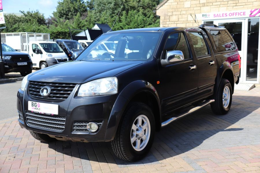 GREAT WALL STEED TD 141 SE 4X4 DOUBLE CAB WITH TRUCKMAN TOP - 9849 - 9
