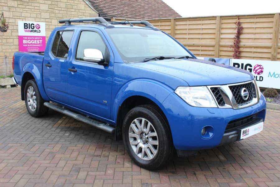NISSAN NAVARA OUTLAW DCI 231 4X4 SHR DOUBLE CAB WITH ROLL'N'LOCK TOP - 6936 - 3