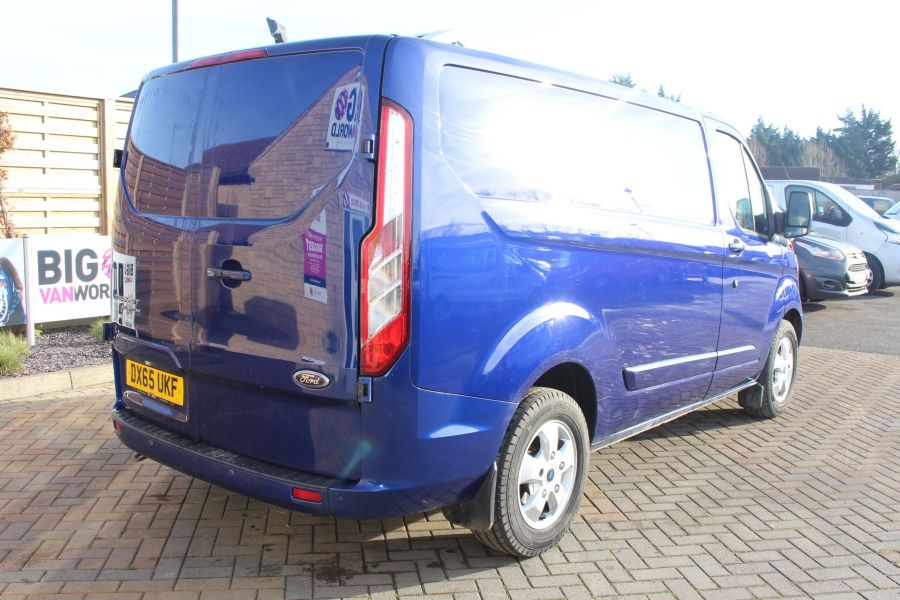 FORD TRANSIT CUSTOM 290 TDCI 155 L1 H1 LIMITED SWB LOW ROOF - 8952 - 5