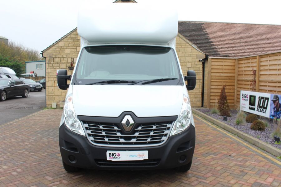 RENAULT MASTER LL35 DCI 125 BUSINESS LWB LUTON WITH TAIL LIFT  - 6880 - 8