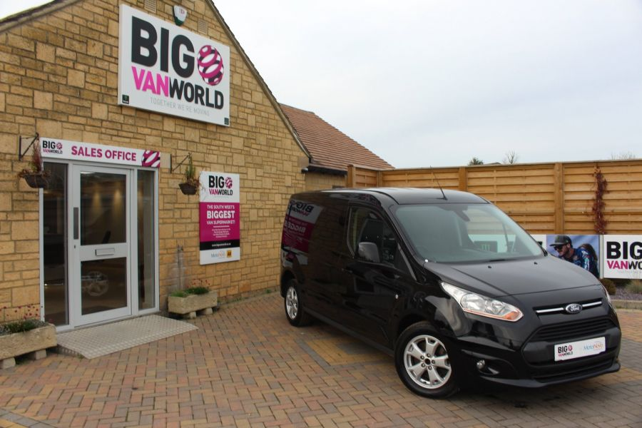 FORD TRANSIT CONNECT 240 TDCI 115 LIMITED L2 H1 LWB - 6024 - 1