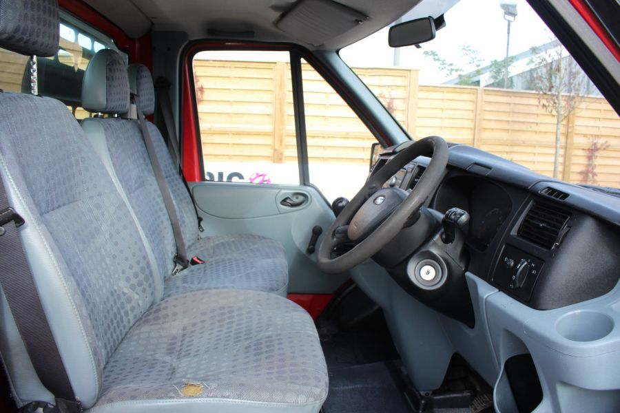 FORD TRANSIT 300 TDCI 110 SWB ALLOY DROPSIDE - 7031 - 10