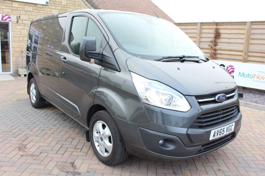 FORD TRANSIT CUSTOM 270 TDCI 125 L1 H1 LIMITED SWB LOW ROOF - 8050 - 1