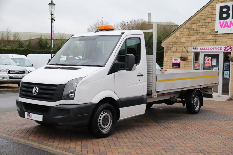VOLKSWAGEN CRAFTER CR35 TDI 140 BMT LWB SINGLE CAB ALLOY DROPSIDE - 12073 - 10