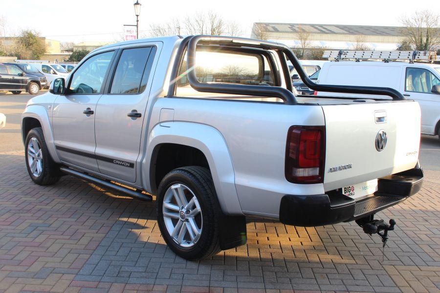 VOLKSWAGEN AMAROK TDI 180 CANYON 4MOTION DOUBLE CAB AUTO WITH ROLL'N'LOCK TOP - 7311 - 7