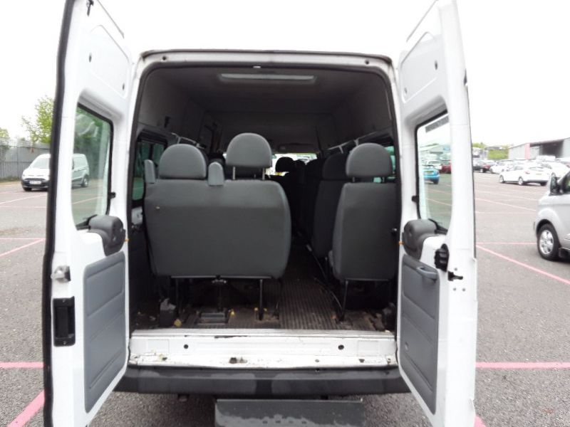 FORD TRANSIT 430 TDCI 135 EL LWB 17 SEAT BUS MEDIUM ROOF DRW RWD - 9424 - 5