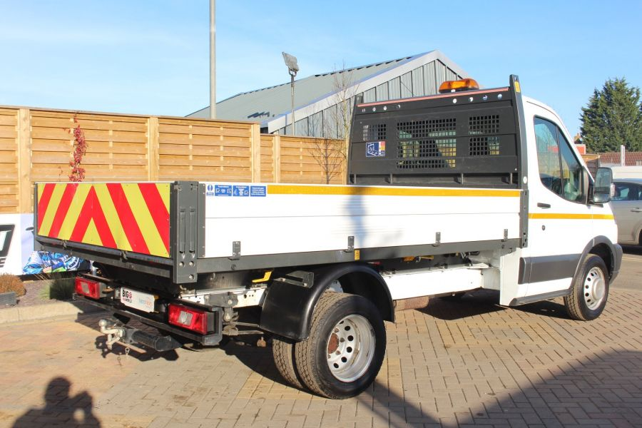 FORD TRANSIT 350 TDCI 125 SINGLE CAB 'ONE STOP' ALLOY TIPPER DRW - 7213 - 13