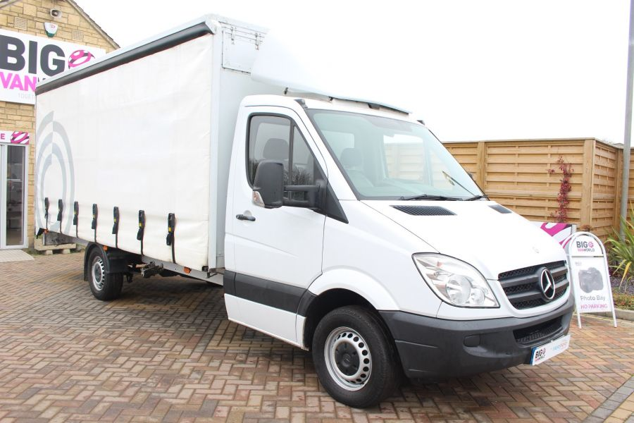 MERCEDES SPRINTER 313 CDI LWB 17FT CURTAIN SIDE BOX - 7006 - 3