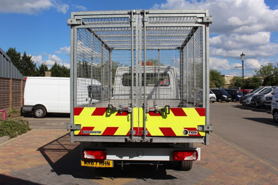 MERCEDES SPRINTER 314 CDI 140 SINGLE CAB CAGED ALLOY TIPPER - 9303 - 6