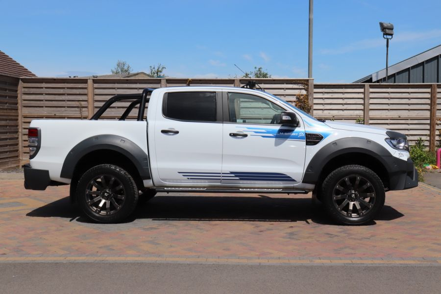 FORD RANGER TDCI 200 M SPORT 4X4 DOUBLE CAB  - 10739 - 5