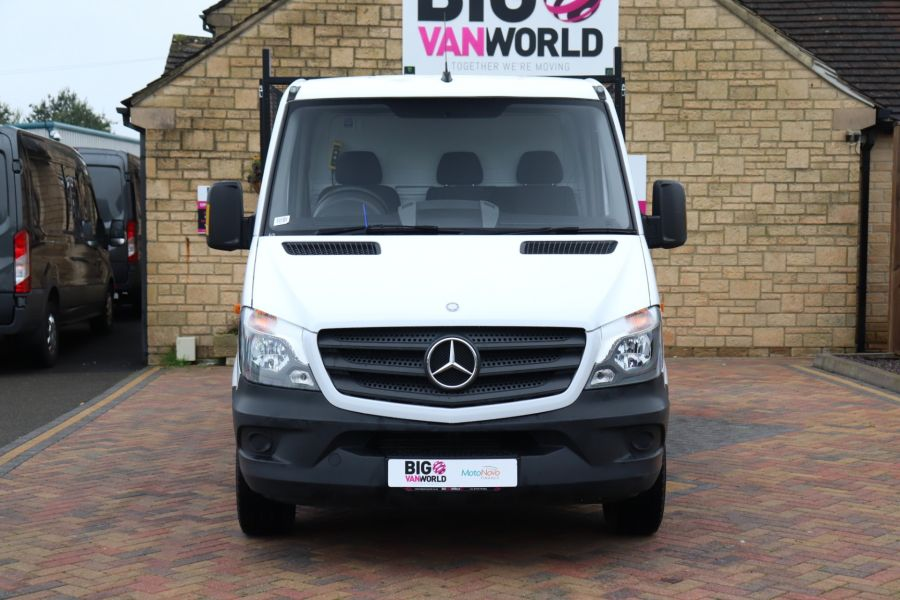 MERCEDES SPRINTER 313 CDI 129 MWB SINGLE CAB NEW BUILD ALLOY CAGED TIPPER - 9685 - 10