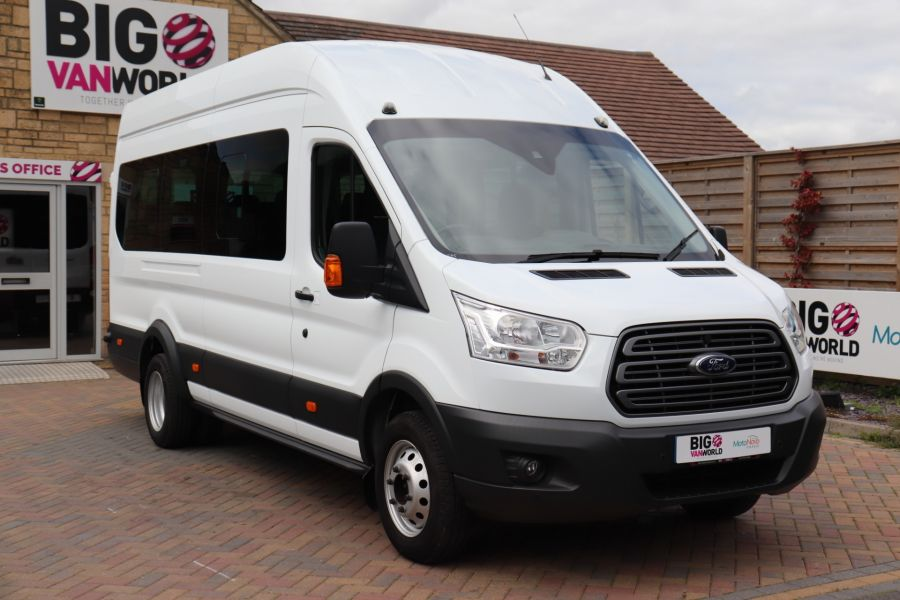 FORD TRANSIT 460 TDCI 155 L4H3 TREND 17 SEAT BUS HIGH ROOF DRW RWD - 9767 - 3