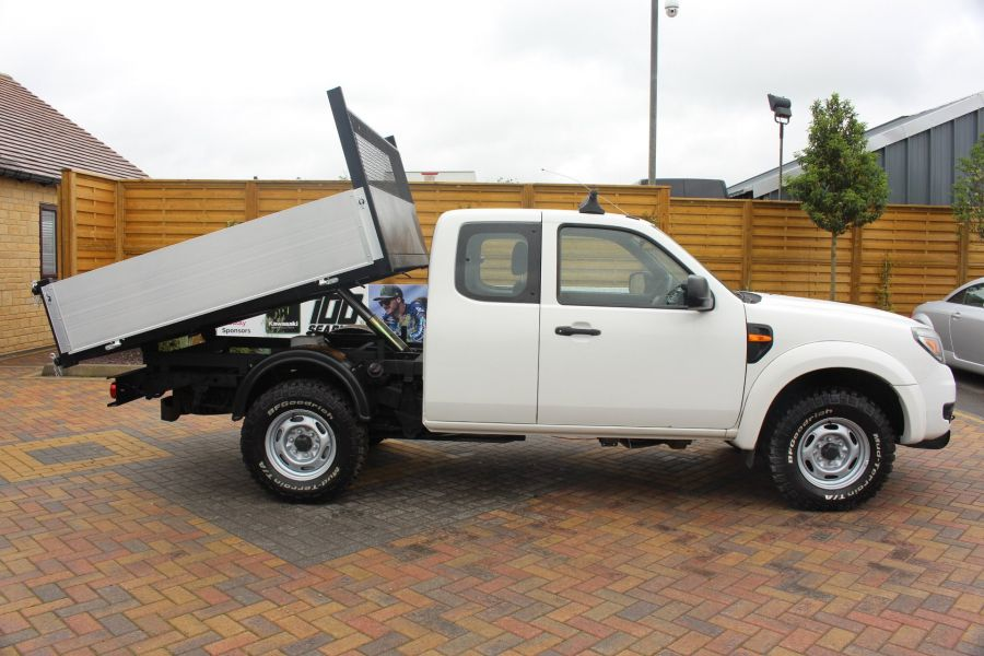 FORD RANGER XL 4X4 TDCI SUPER CAB ALLOY TIPPER - 6055 - 4