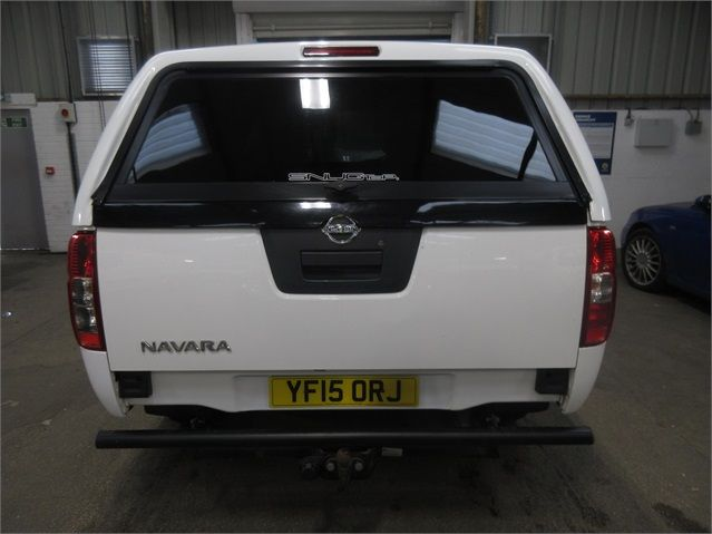 NISSAN NAVARA DCI 144 VISIA 4X4 DOUBLE CAB WITH TRUCKMAN TOP - 7405 - 4