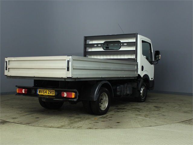 NISSAN NT400 CABSTAR DCI 35.14 DCI 136 SWB ALLOY DROPSIDE - 6873 - 2