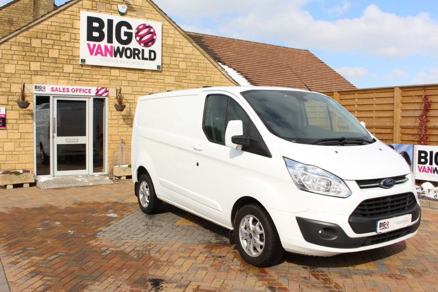 FORD TRANSIT CUSTOM 270 TDCI 125 L1 H1 LIMITED SWB LOW ROOF FWD - 7475 - 2