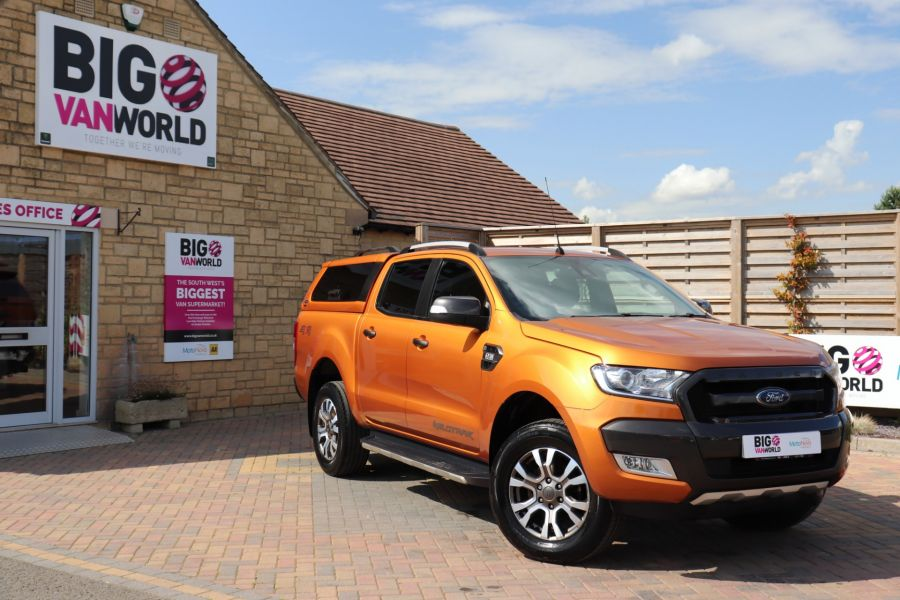 FORD RANGER WILDTRAK TDCI 200 4X4 DOUBLE CAB WITH TRUCKMAN TOP - 9538 - 1