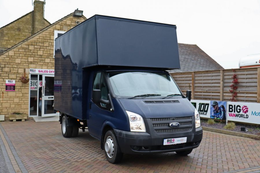 FORD TRANSIT 350 TDCI 100 MWB EXTRA HIGH LUTON BODY WITH TAIL LIFT DRW RWD - 10491 - 4