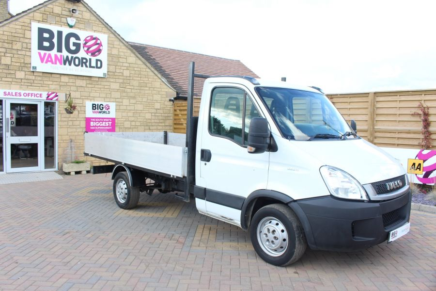 IVECO DAILY 35S11 MWB SINGLE CAB 11FT 6IN ALLOY TIPPER - 5178 - 11