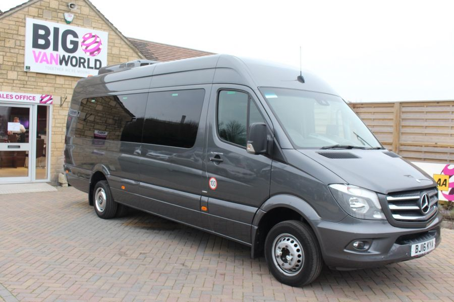 MERCEDES SPRINTER 516 TRAVEL 45 XLWB 16 SEAT SINGLE DECK COACH - 8762 - 1